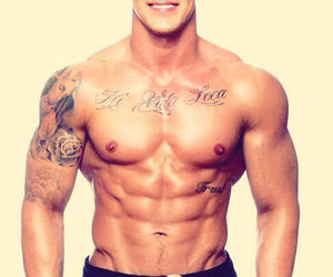 gorgeous, guy, and ripped image