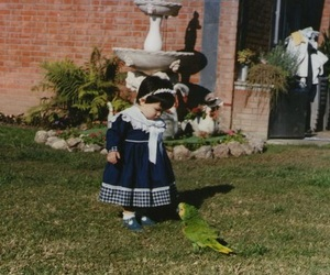 me, parrot, and little baby image
