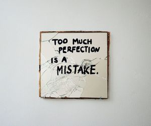 mirror, mistake, and quote image