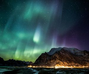 norway, northern lights, and amazing image