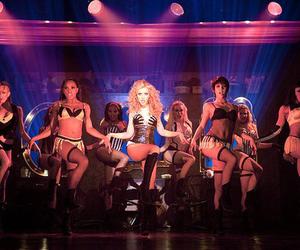 burlesque, christina aguilera, and dance image