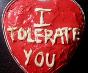 cake, heart, and tolerate image