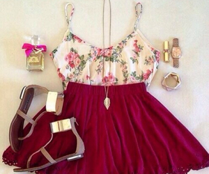 flowers, Hot, and outfit image