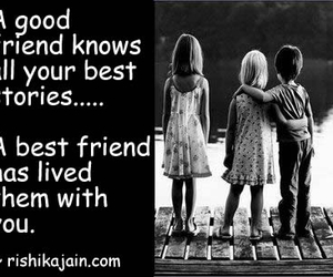 best friend, good friend, and quotes image