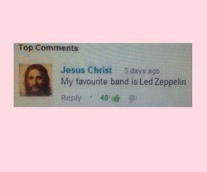 jesus, led zeppelin, and grunge image