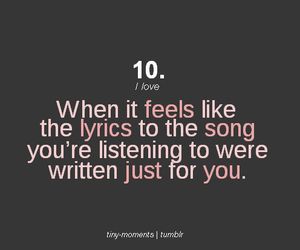 Lyrics, quotes, and music image