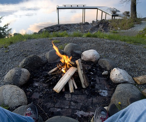 campfire, quality, and photography image