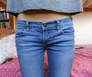 tumblr and jeans image