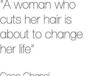 hair, quote, and change image