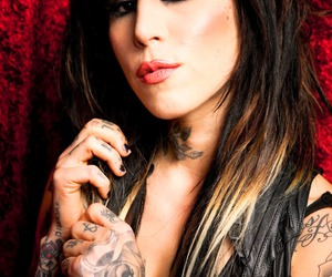 awesome, kat von d, and LA ink image