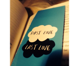 love, book, and first love image