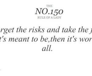risk, love, and quote image