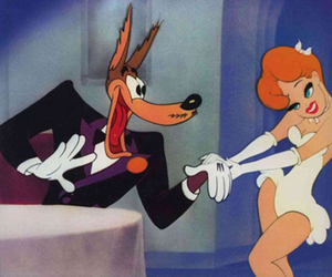 wolf, red hot riding hood, and tex avery image