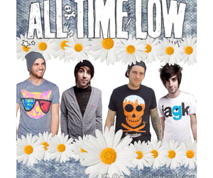 acid wash, alex gaskarth, and all time low image