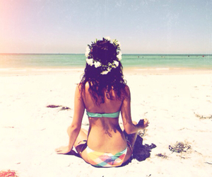 beach, hipster, and vacation image