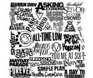 all time low and green day image
