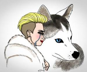miley cyrus, floyd, and cry image