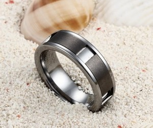 personalized, unique, and mens rings image