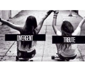 tribute, divergent, and friends image
