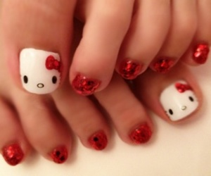 nail art, nails, and japanese image