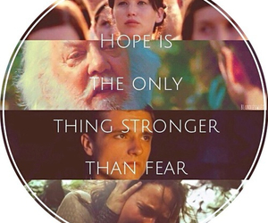 the hunger games, hope, and katniss everdeen image