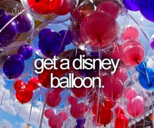 balloon, disney, and Dream image