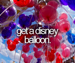 balloon, disney, and Dream image