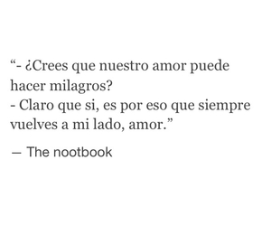 amor, the notebook, and love image
