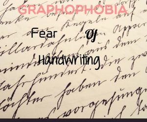 fear, handwriting, and phobias image
