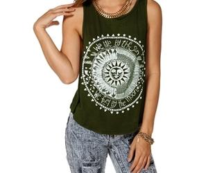 fashion, sun, and top image