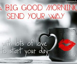 good morning and kiss image
