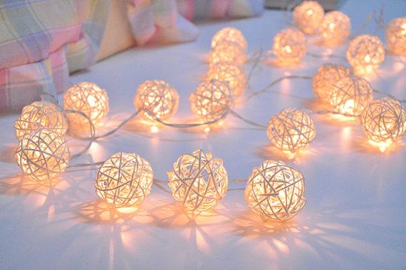 ball, lights, and string image