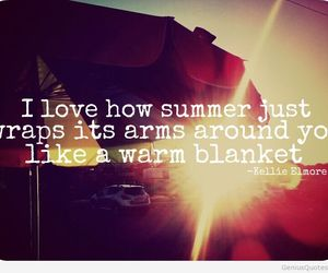 quote, summer, and love image