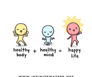 body, happy, and life image