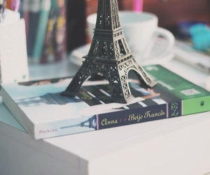 book, cup, and france image