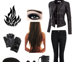 outfit, tris prior, and divergent image