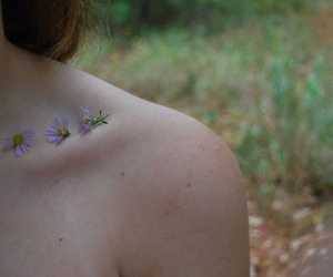 collarbone, colors, and girl image