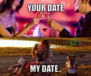 date, lovers, and mine image