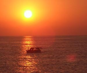sunset, turkey, and alanya image