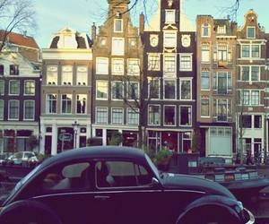 amsterdam, cars, and travel image