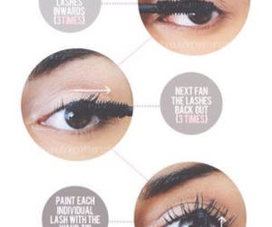 makeup, mascara, and tutorial image