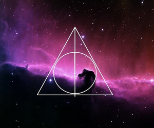galaxy and harry potter image
