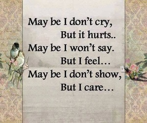 cry, care, and hurt image