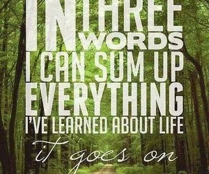 quote, life, and robert frost image