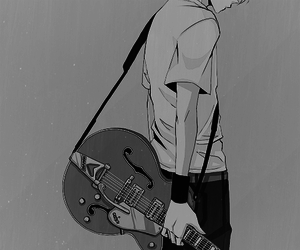 anime, guitar, and manga image