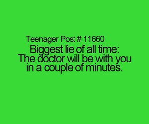 teenager post, doctor, and funny image