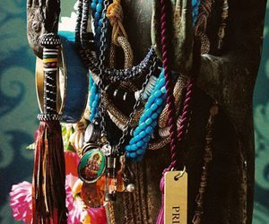 beads, hippie, and jewels image