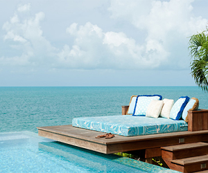 sea, pool, and bed image