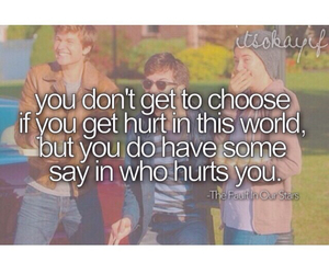 quotes, it's ok, and fault in our stars image