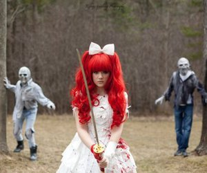 guro, red hair, and hair image